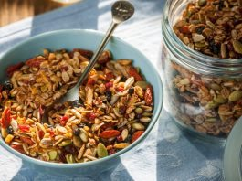 trail mix ingredients and recipes